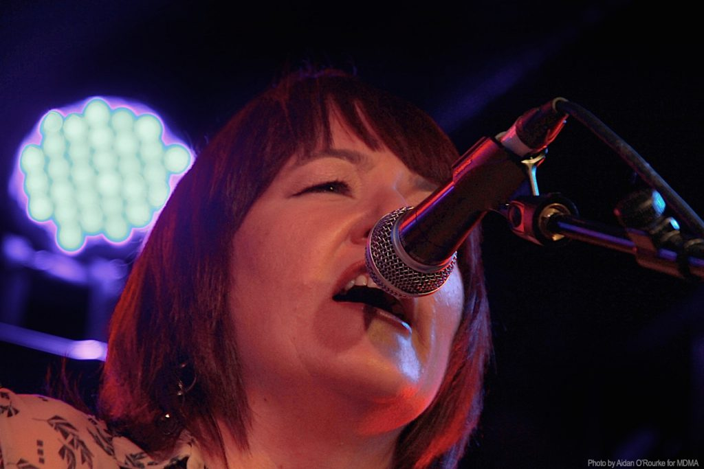 The Speed Of Sound - Ann-Marie Crowley, vocals & guitar